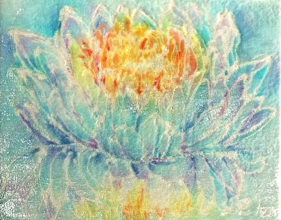 Unknown - Aqua-line Crystalline Fire Lotus