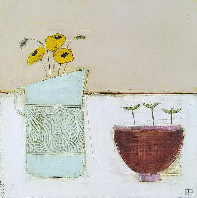 Eithne  Roberts - Jug and seeding bowl