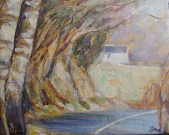 Fred McElwee - Landscape with road