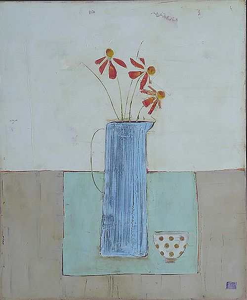 Eithne  Roberts - Large Blue Jug