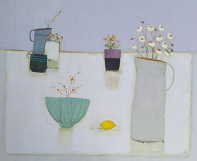 Eithne  Roberts - Linen and lemon