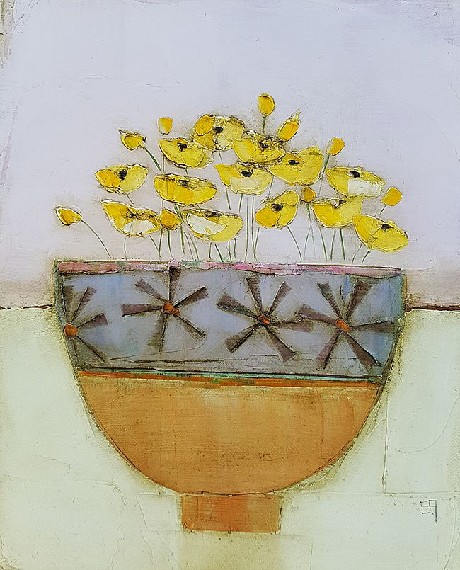 Eithne  Roberts - Little orange bowl