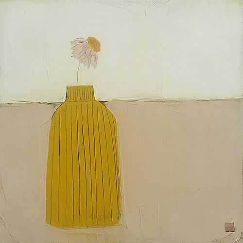 Eithne  Roberts - Little yellow vase