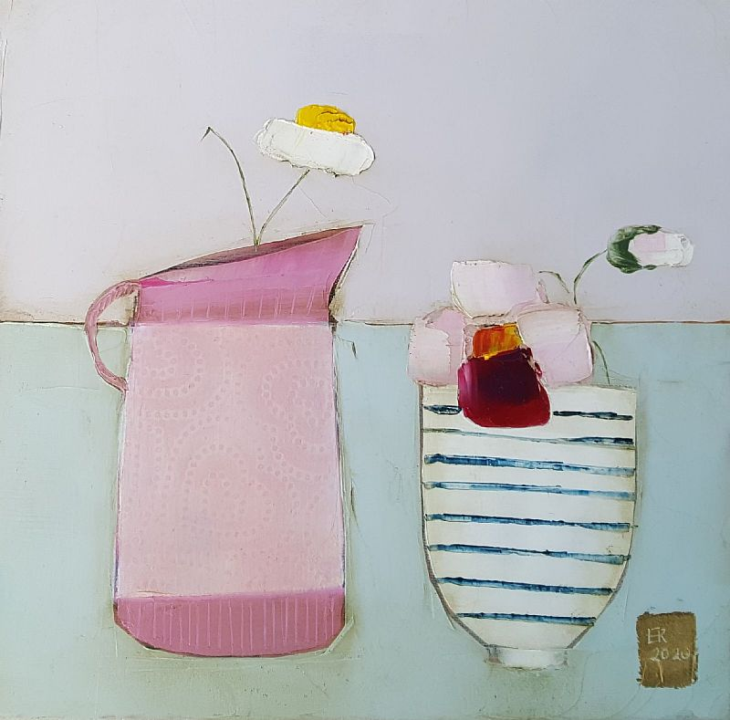 Eithne  Roberts - Little Hearts and stripes