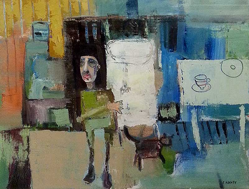 Christy Keeney - Man with Cat