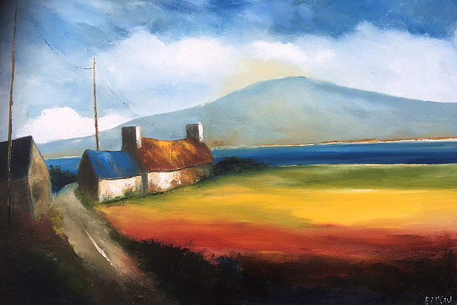 On the bend in the road by Padraig McCaul