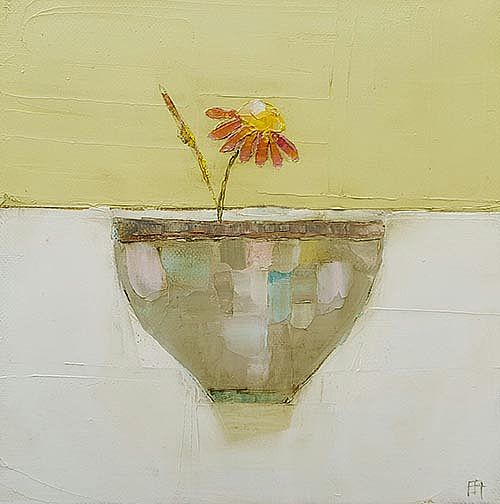 Eithne  Roberts - Orange flower bowl