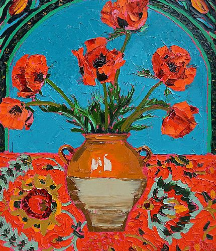 View Ornamental Poppies