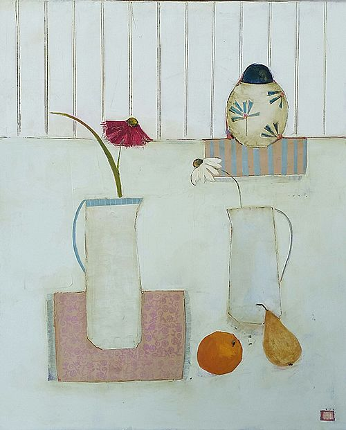 Eithne  Roberts - Pear and Orange