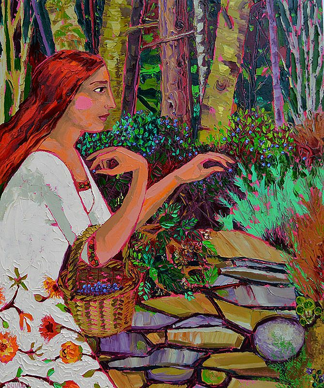 Lucy Doyle - Picking Bilberries