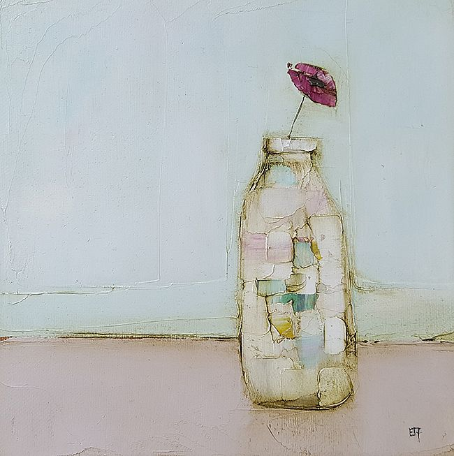 Eithne  Roberts - Poppy bottle