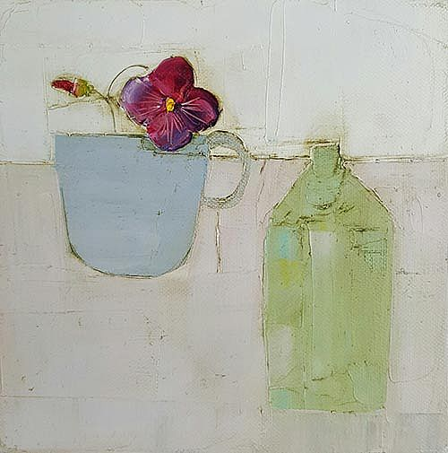 Eithne  Roberts - Red pansy cup