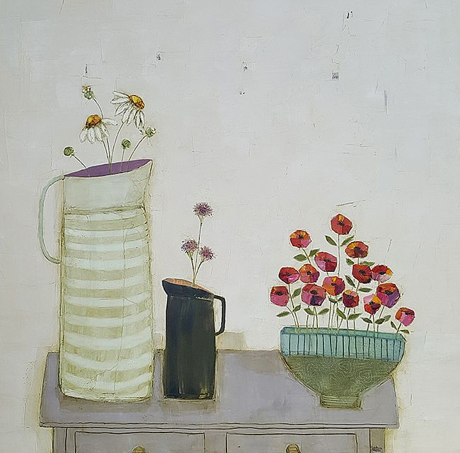 Eithne  Roberts - Red poppy bowl