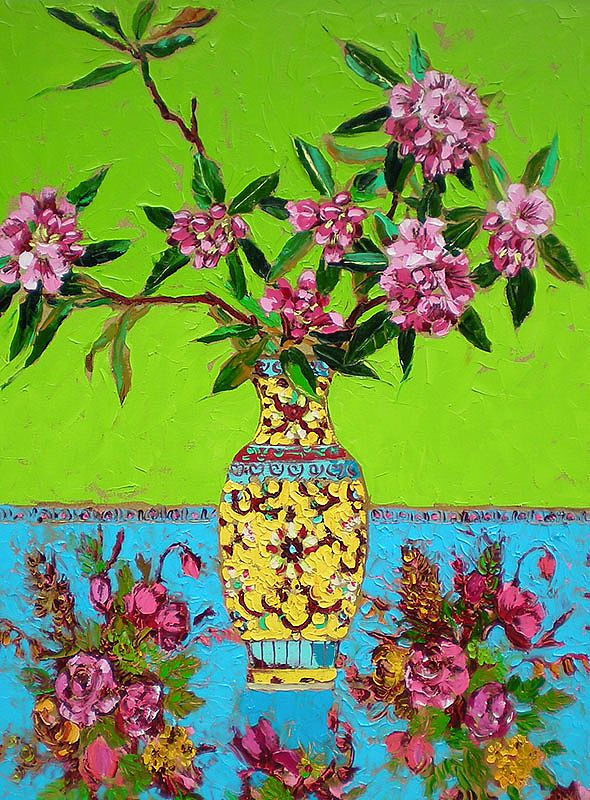 Lucy Doyle - Rococo Rhododendrums