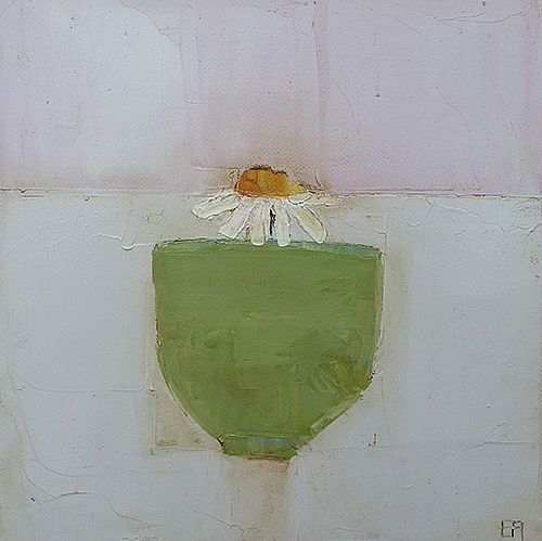 Eithne  Roberts - Daisy in green