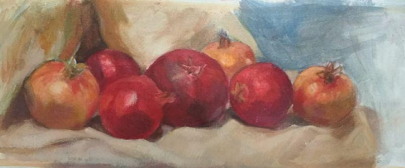 View Seven pomegranates