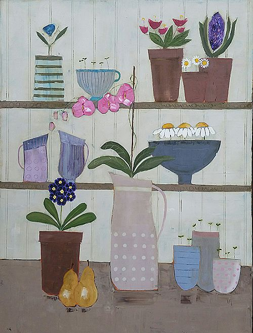 Eithne  Roberts - Shelf life with pears