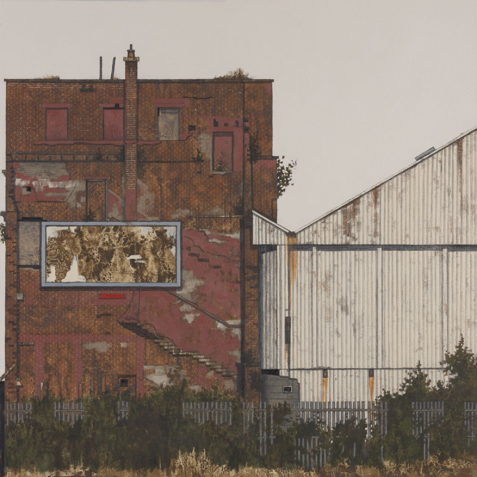 Shotblasting Factory II by Cate  Inglis