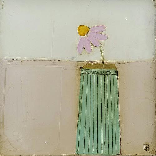 Eithne  Roberts - Small green vase