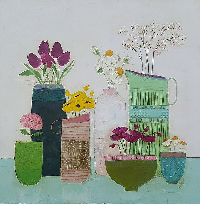 Eithne  Roberts - Small summer shelf