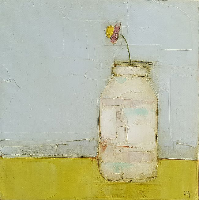 Eithne  Roberts - Small white jar