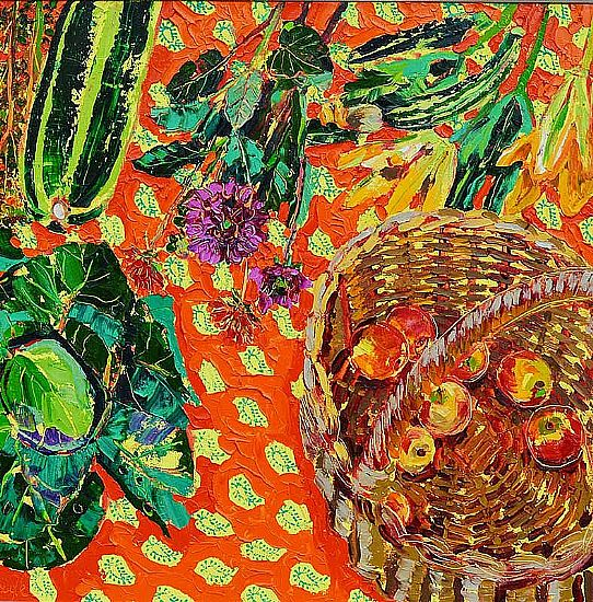 View Still Life with Garden Produce