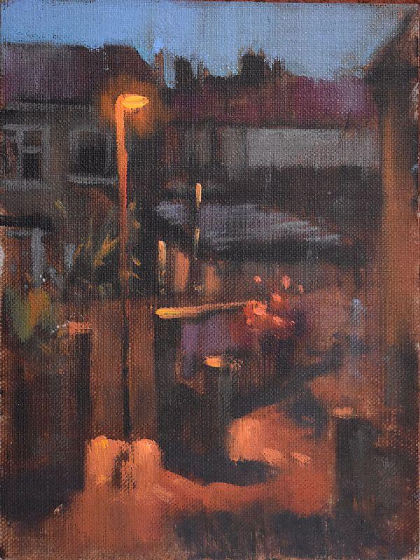 View Street corner nocturne (I)