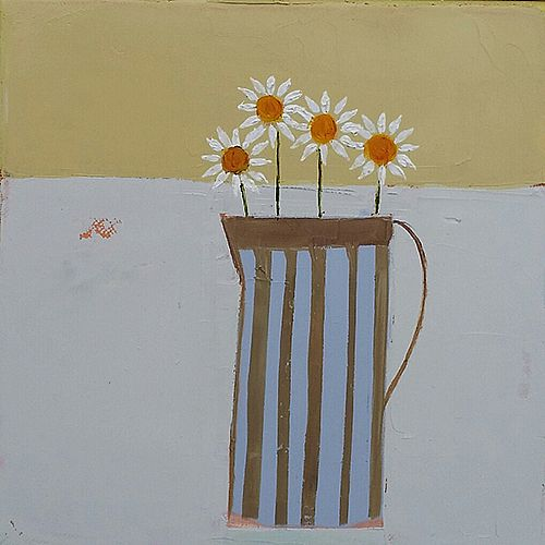 Eithne  Roberts - Stripes and Daisies