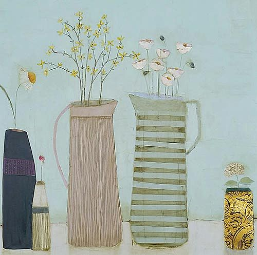 Eithne  Roberts - Stripes and gold