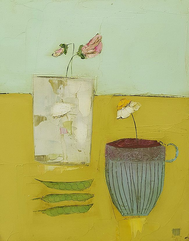 Eithne  Roberts - Sweetpea and pea pods