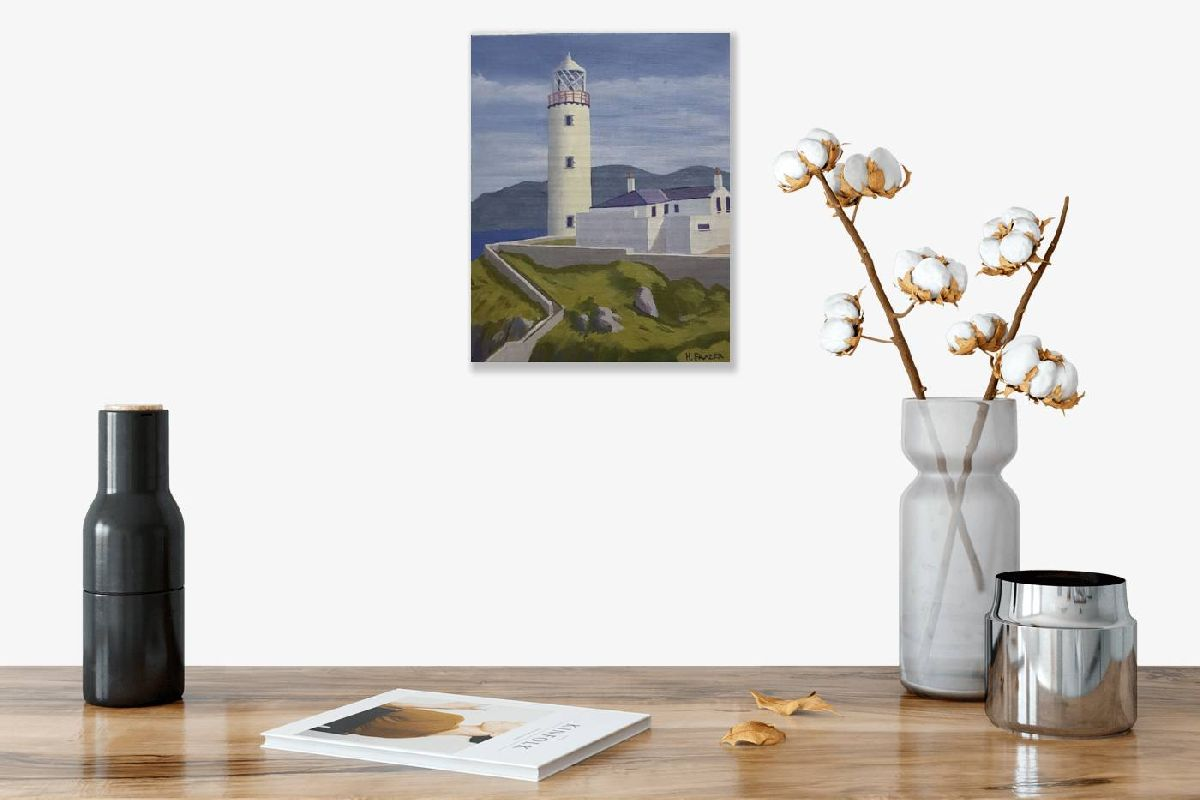 Symbols of hope and endurance..Fanad Head by Hugh Frazer