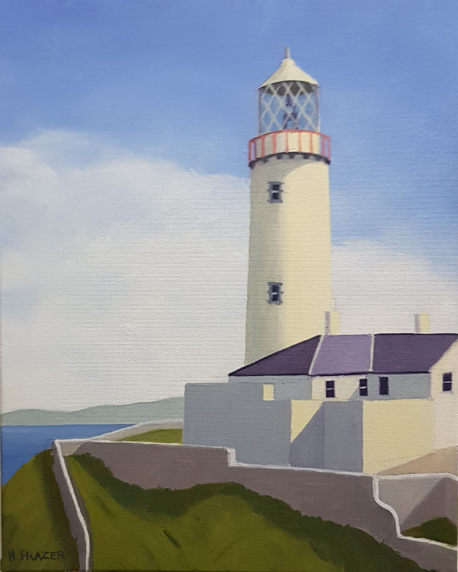 Symbols of hope and endurance..Fanad Head 1 by Hugh Frazer