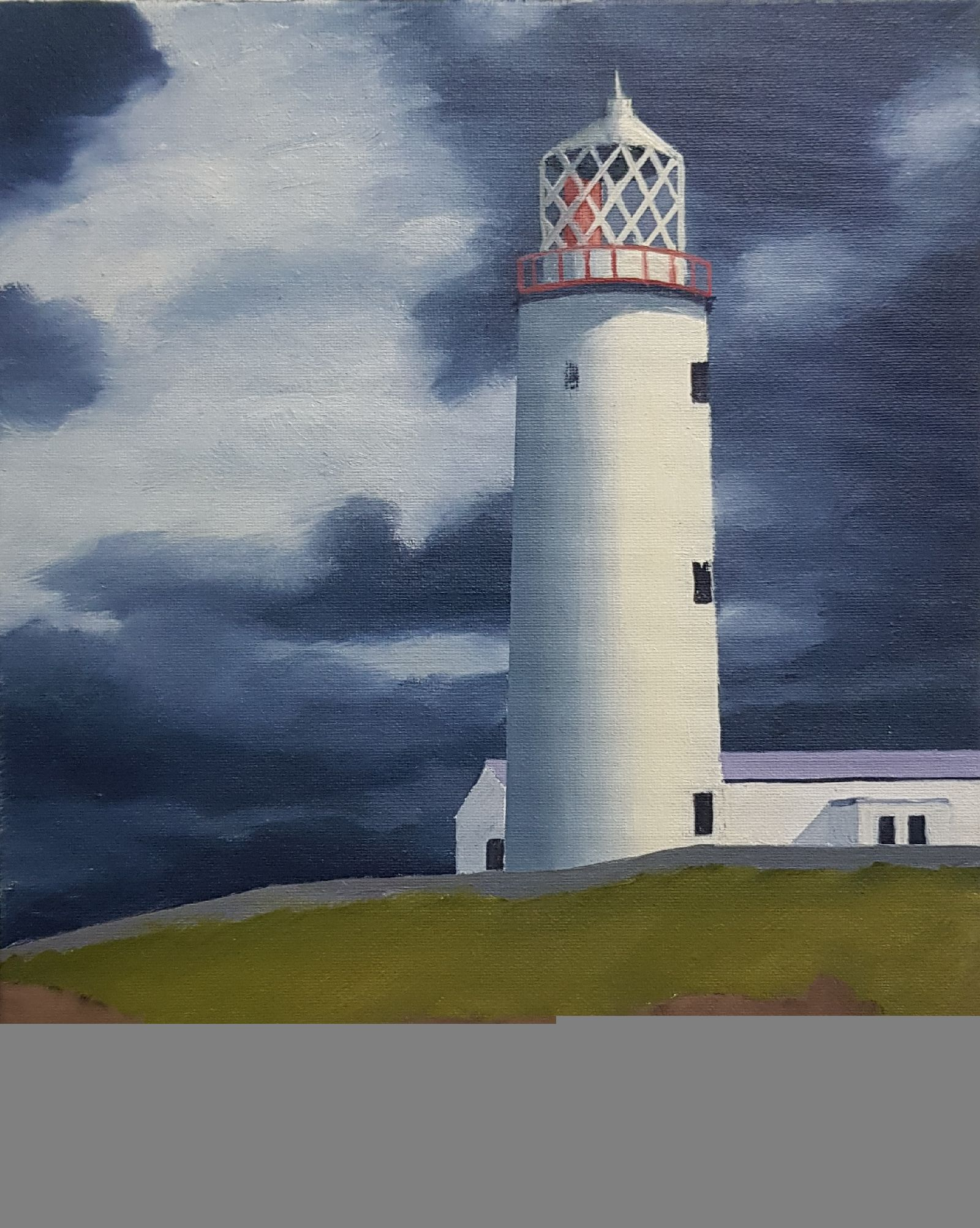Symbols of hope and endurance..Fanad Head 3 by Hugh Frazer