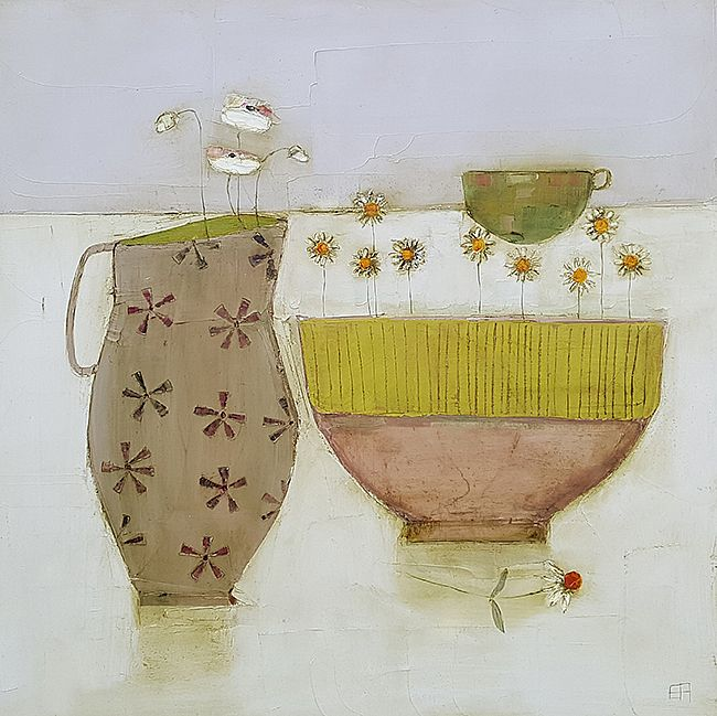 Eithne  Roberts - Tabletop with yellow bowl