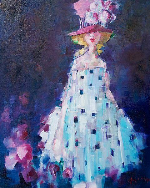 The colour under all silence by Angela Morgan | Irish Art, The