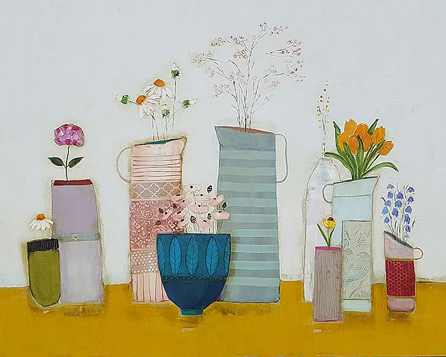 Eithne  Roberts - The long mustard shelf