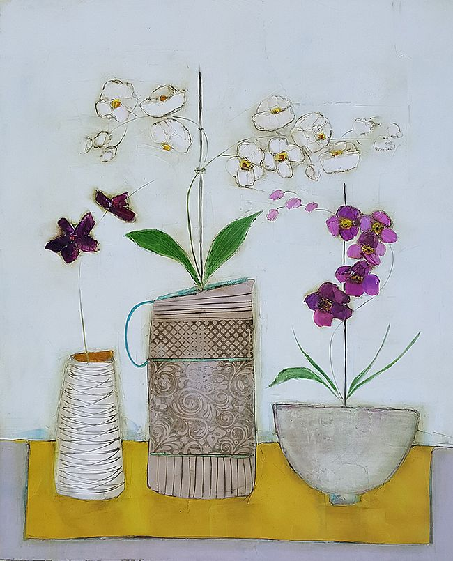 Eithne  Roberts - The orchid table