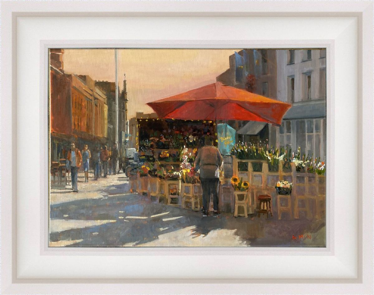 The flower seller by Anne Mc Nulty