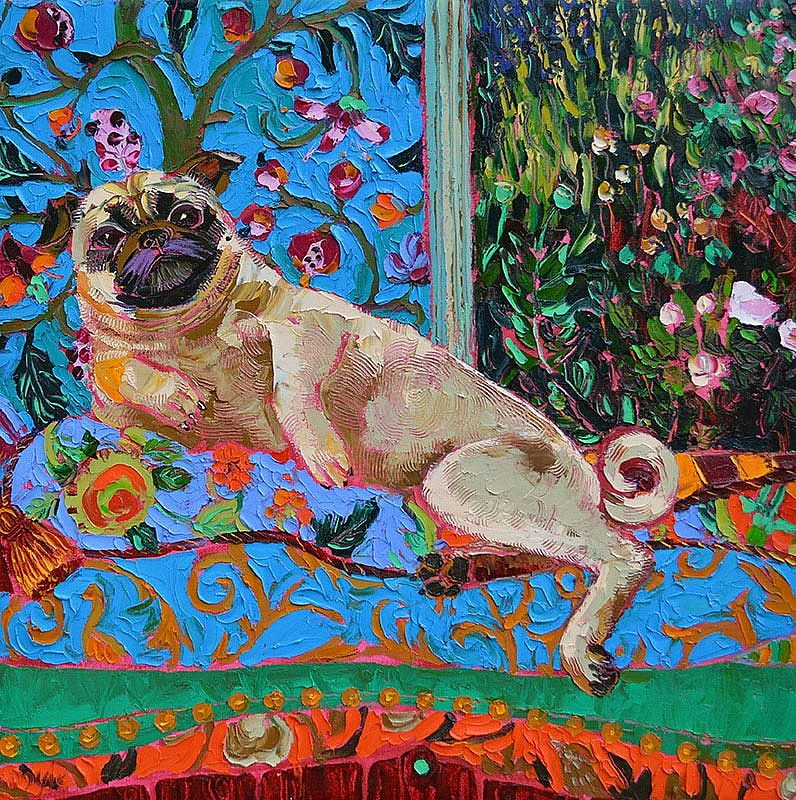 Lucy Doyle - The Pug and the Pea