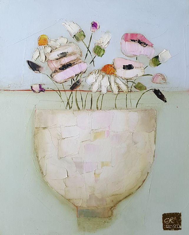 View Tiny wildflower bowl