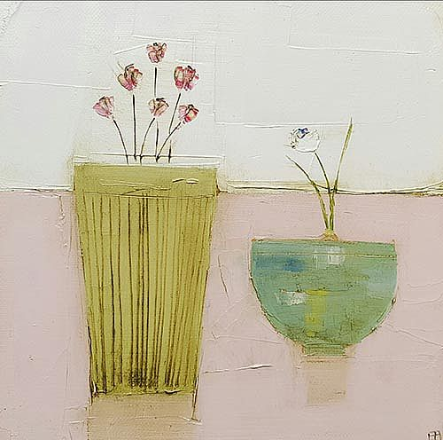 Eithne  Roberts - Two little pots