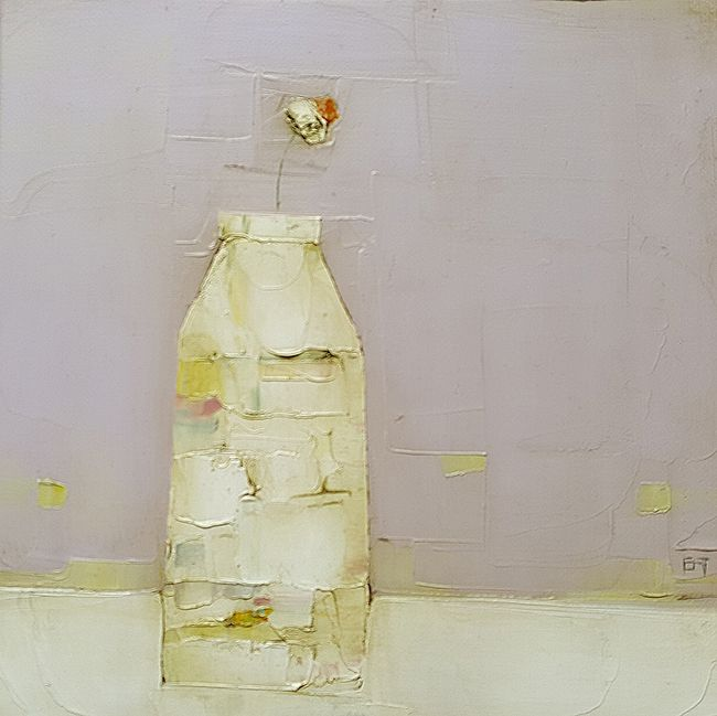 Eithne  Roberts - White daisy bottle