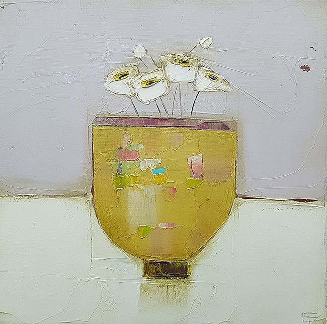 Eithne  Roberts - Yellow pot