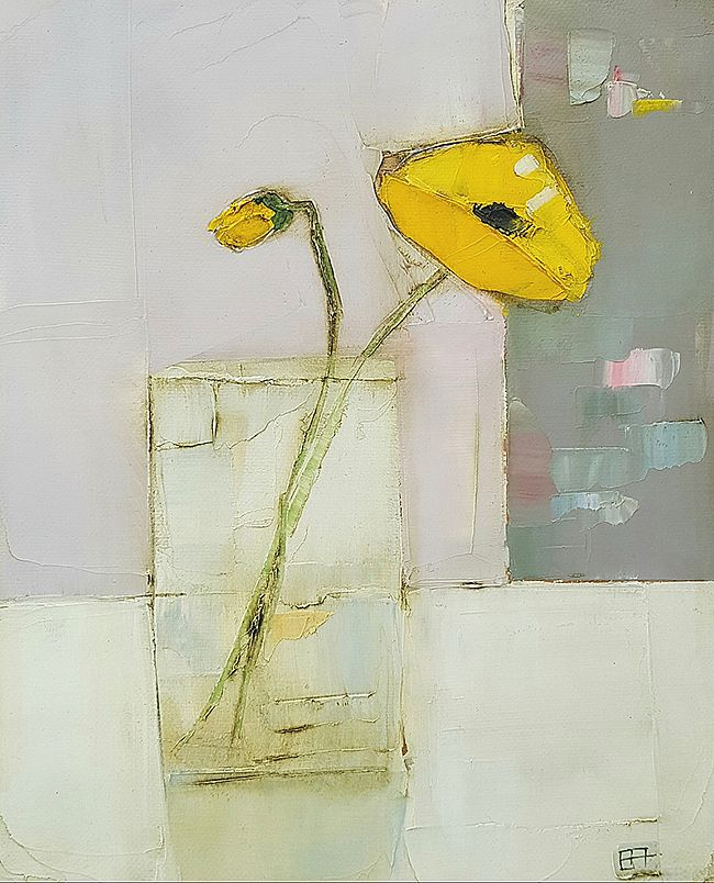 Eithne  Roberts - Yellow wildflower