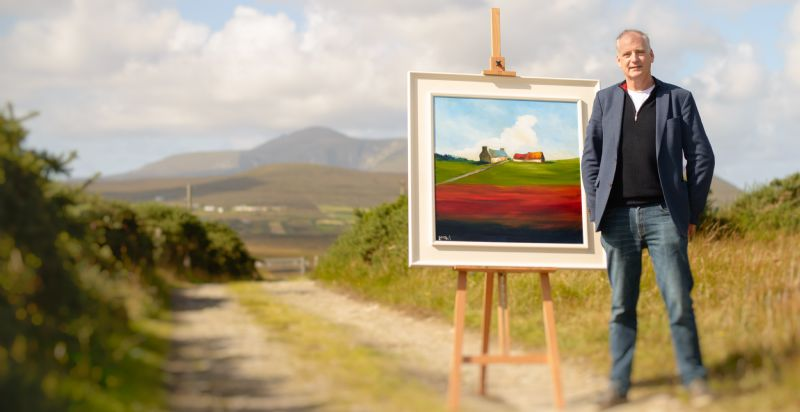 Featured Artist this week is Padraig McCaul - Unseen works April 1st - 7th.