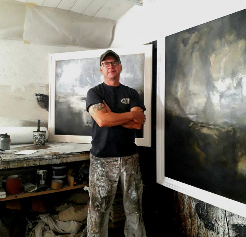 Ken Browne solo Exhibition is now on show - Shadows Falling