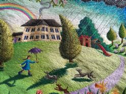 The Home Place  An exhibition of new Stitching's by Aileen Johnson